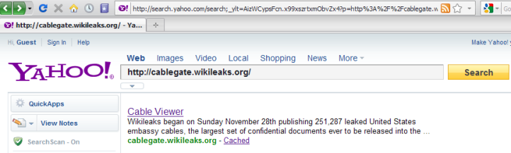 Yahoo.Search.cablegate.wikileaks.org.10.12.2010.1.